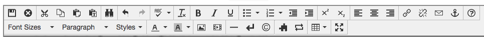 JustEdit Toolbar