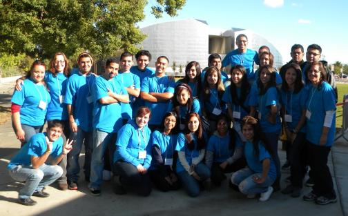 Puente class at Fresno State University 2010