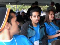 puente students at FSU Transfer Motivational conference 2010