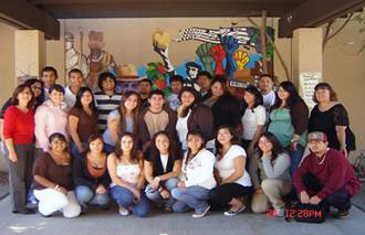 Puente group portrait class of 2007
