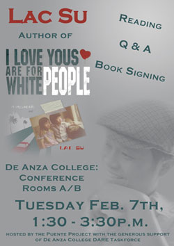 I Love Yous are for White People flyer
