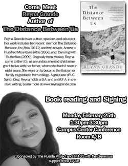 Meet Reyna Grande Author of The Distance Between Us
