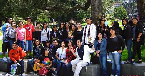 Puente group photo SFU visit 2010