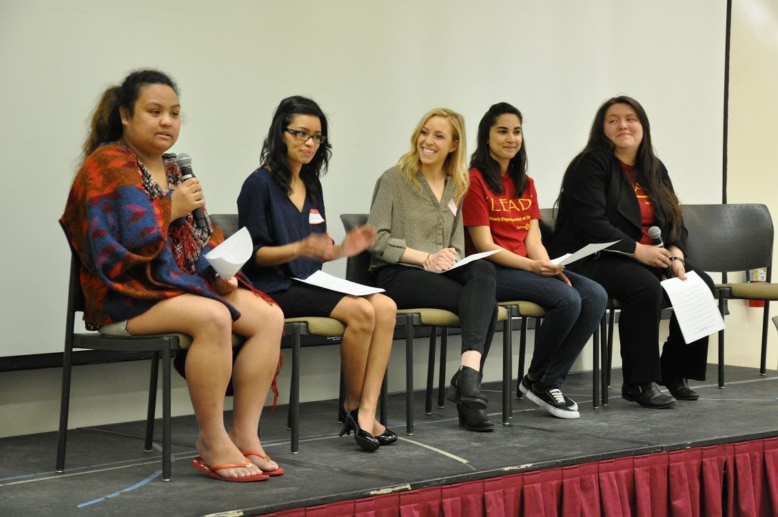 2015 De Anza Campus Convocation--Student Panel