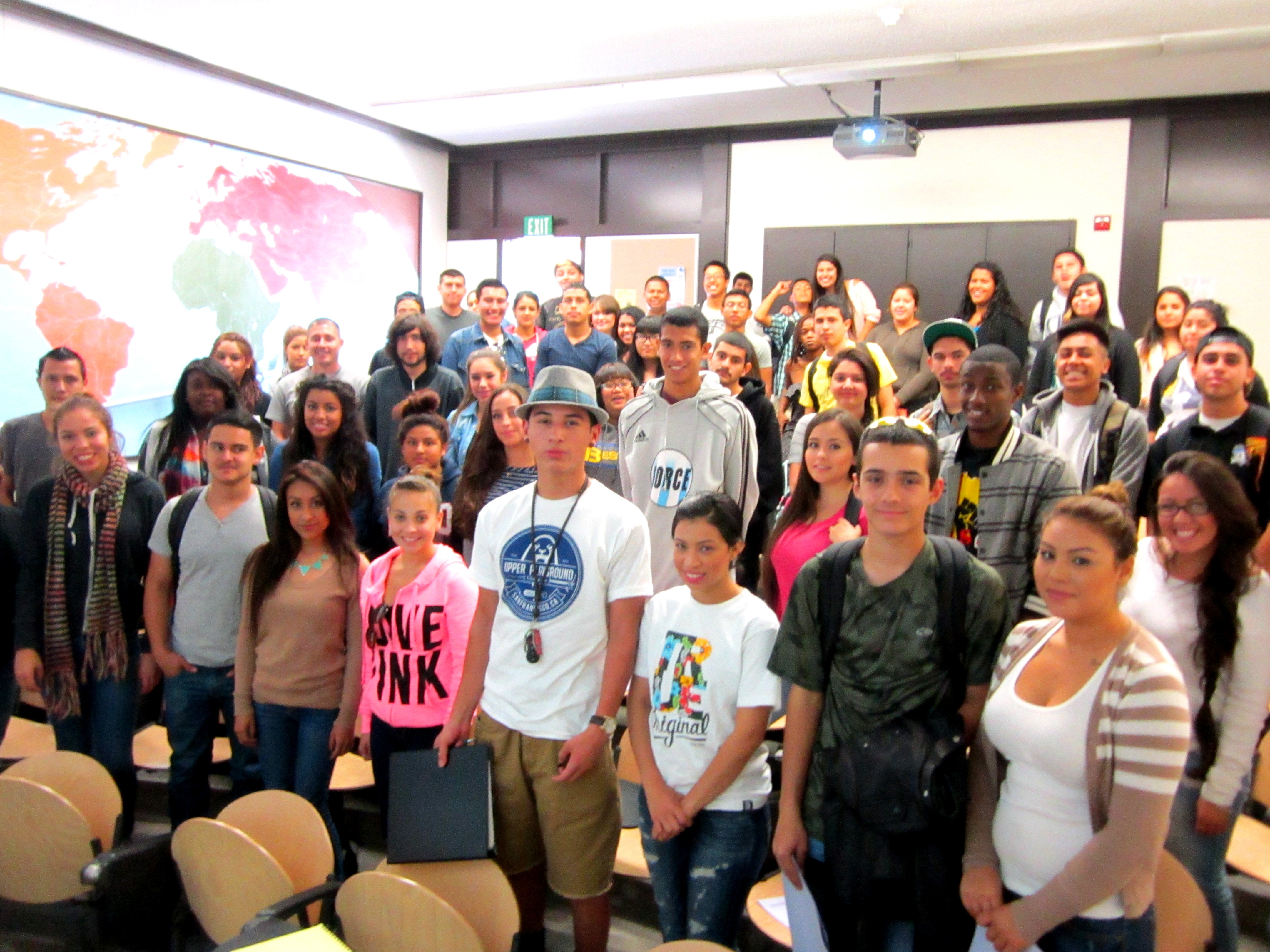 De Anza College :: SSRSC :: First Year Experience