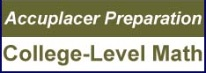 Accuplacer Preparation College-Level Image