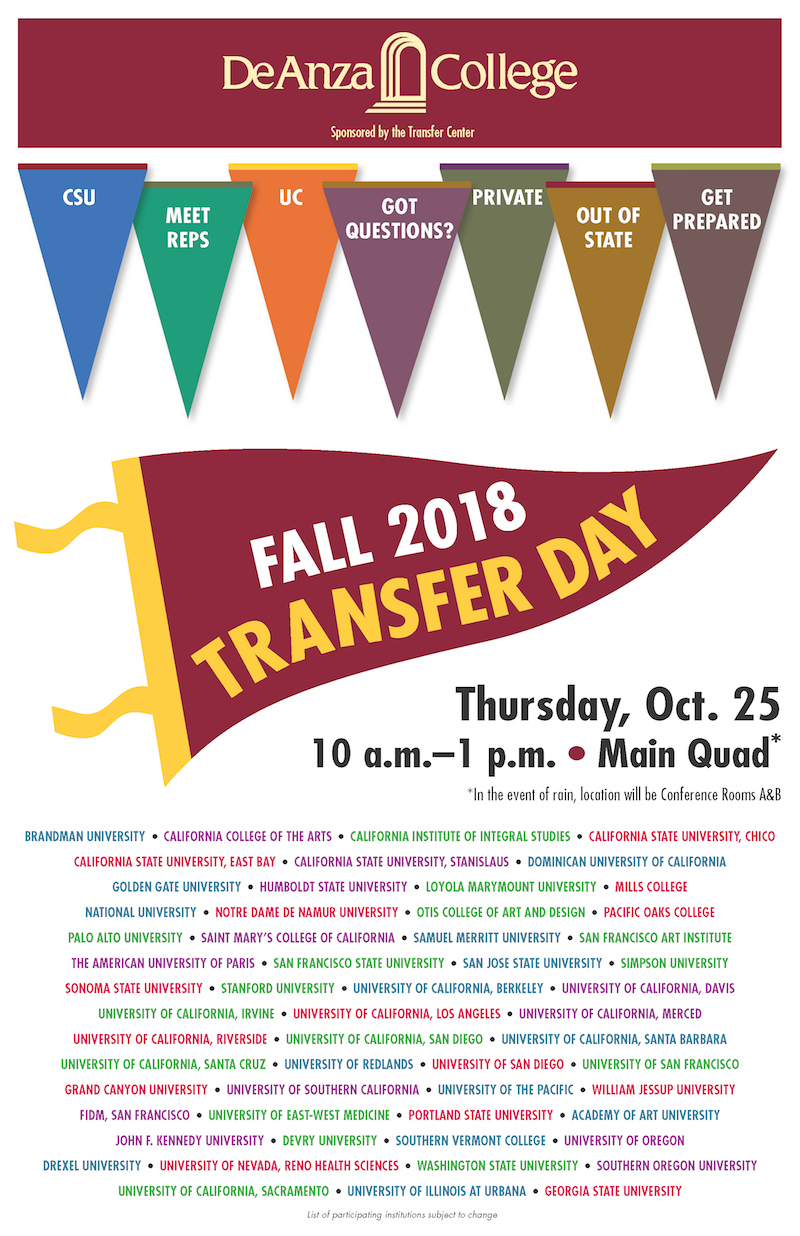 transfer day flyer