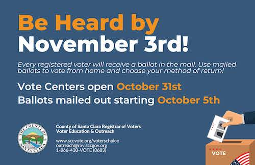 Be Heard by Nov. 3rd