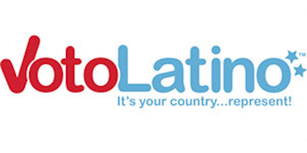 Voto Latino logo and link
